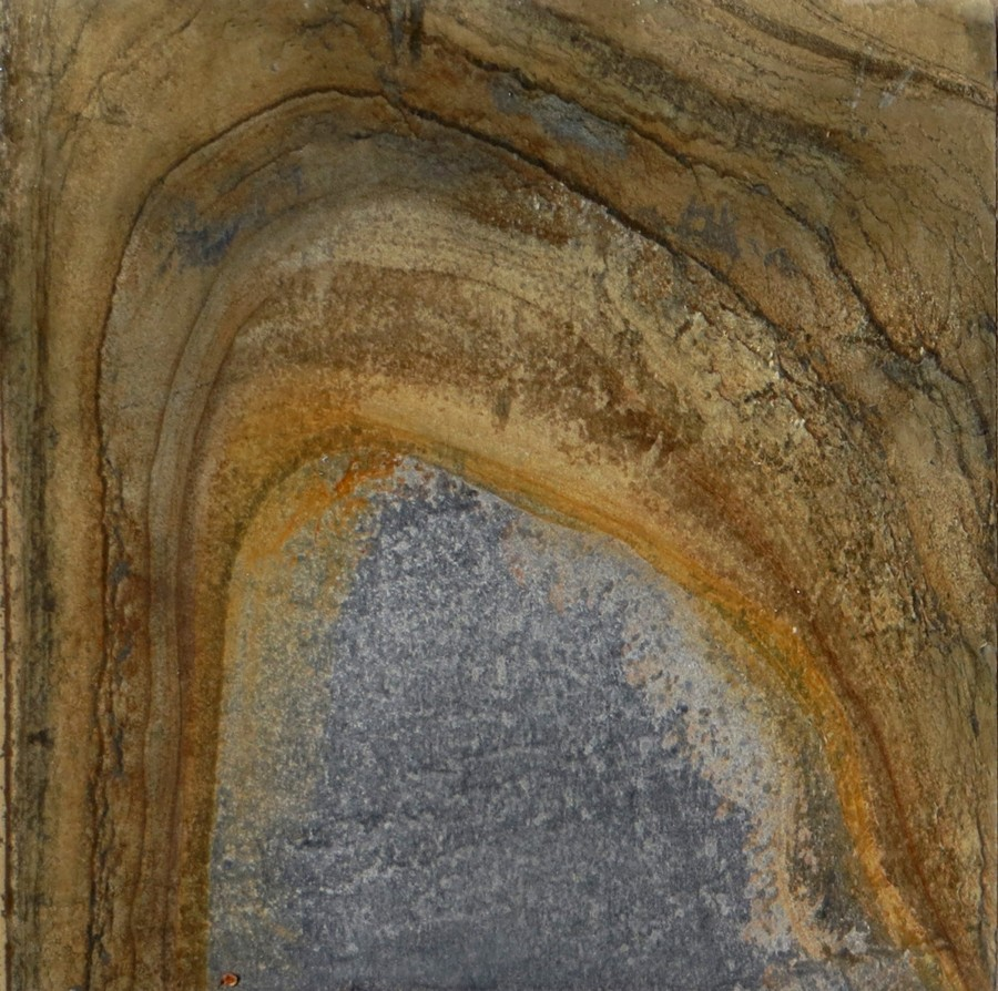 rock texture with arch
