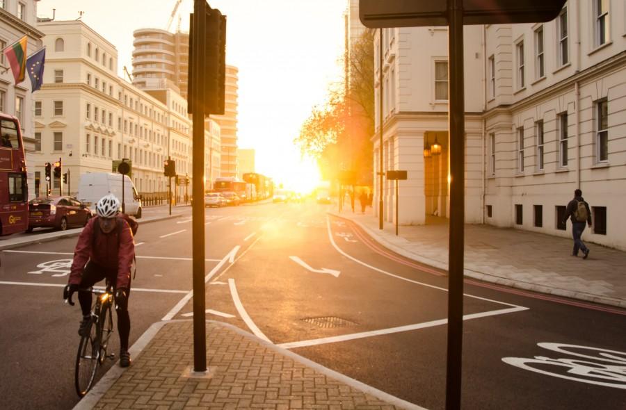 London waking up