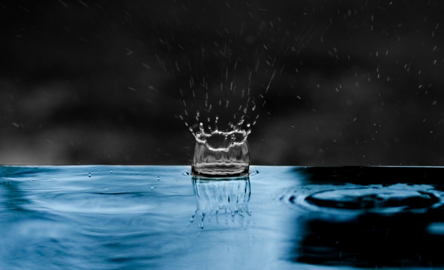 Raindrop splash