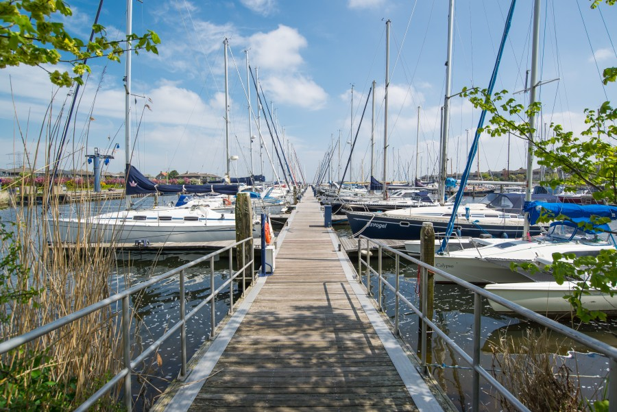 Marina in The Netherlands