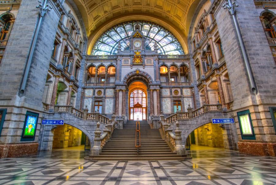 Antwerp station hall