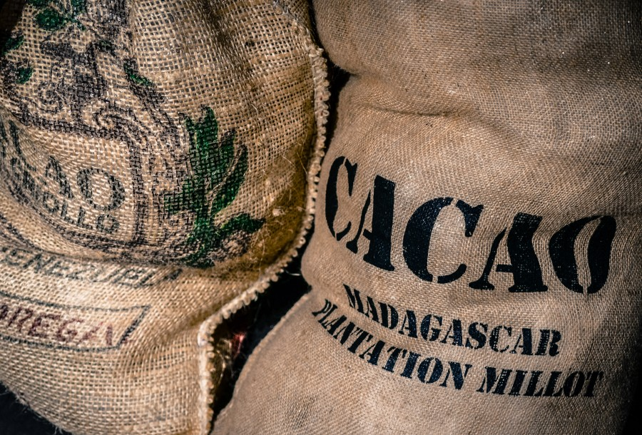 Cacao bags