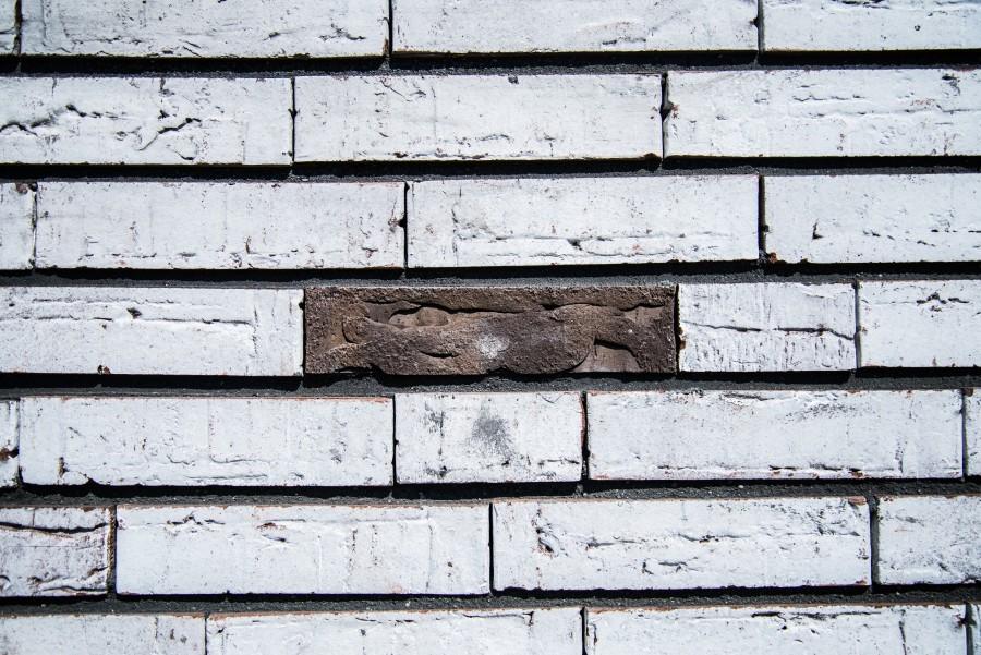 Lonely brick
