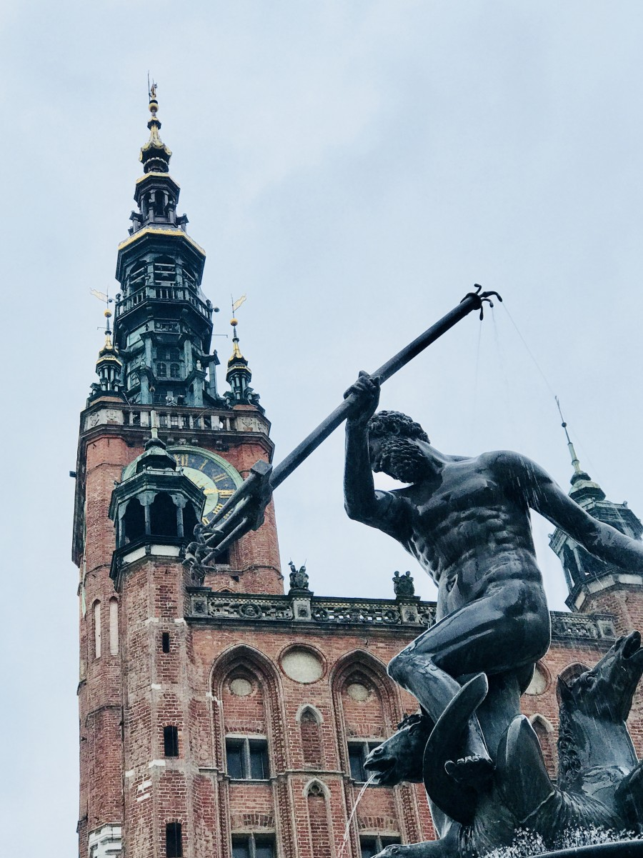 The old town of Gdańsk