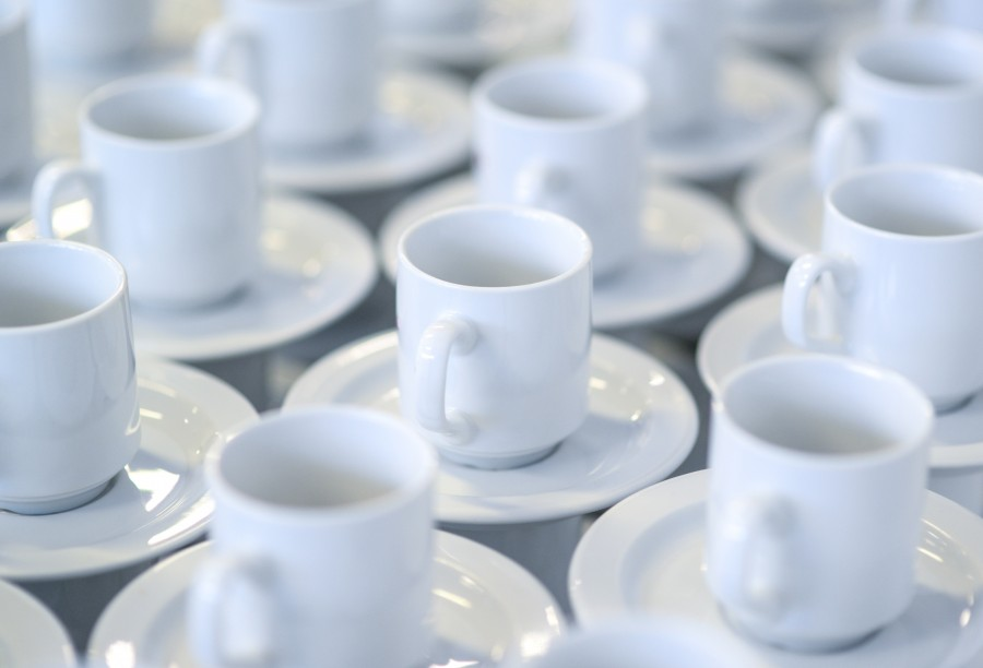 Stacked coffee cup