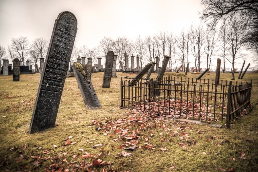 Old burial grounds