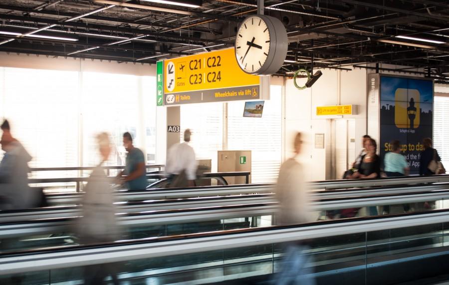 Schiphol terminal