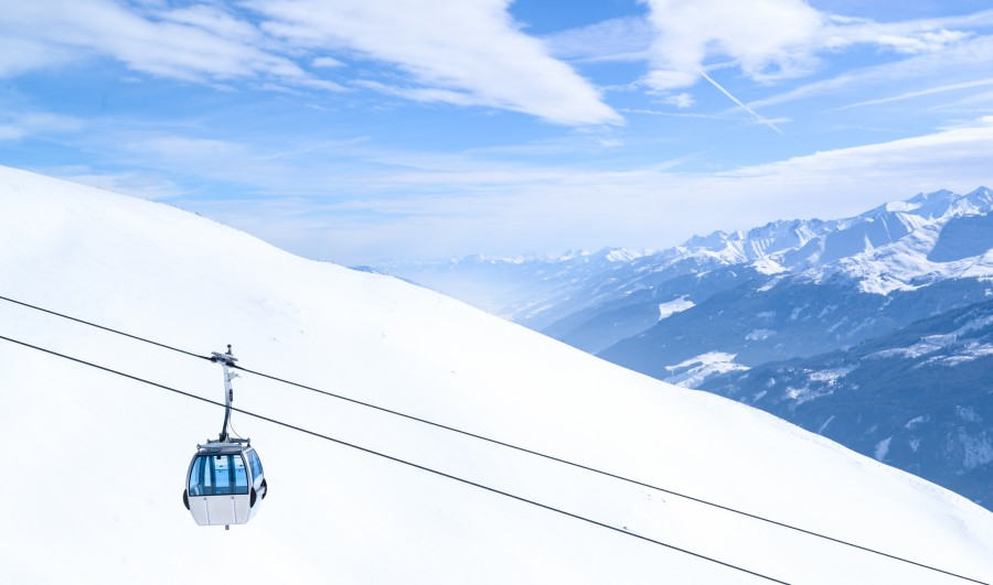Lift in the Alps