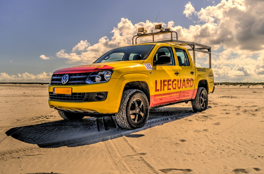 Lifeguard truck