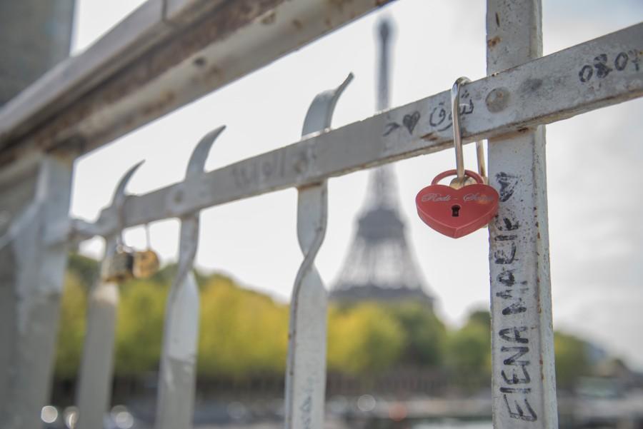 The bridge is locked
