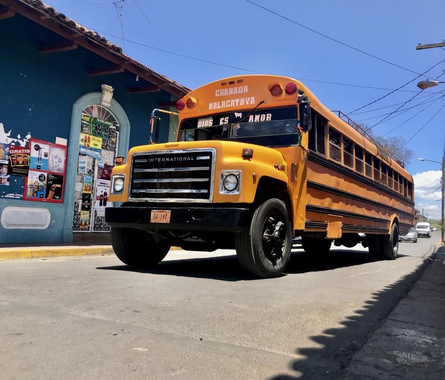 Public bus in Granada | Nicaragua
