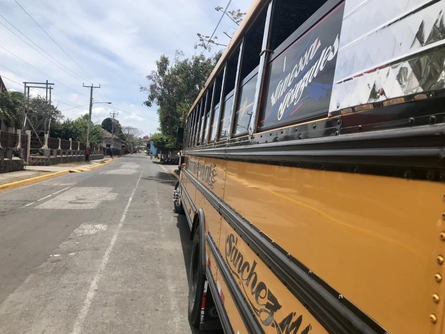 Public bus #2 in Ometepe | Nicaragua