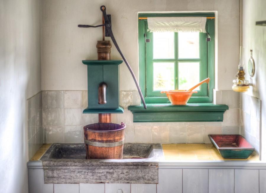Vintage Dutch kitchen