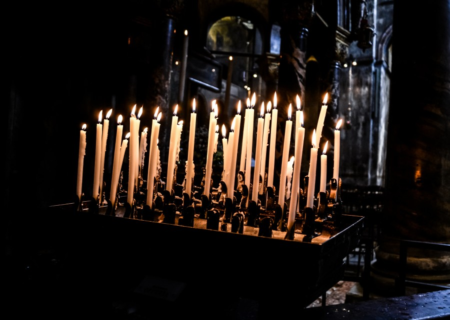 Candles in San Marco