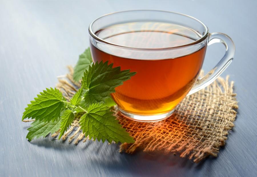 Herbal tea with nettles
