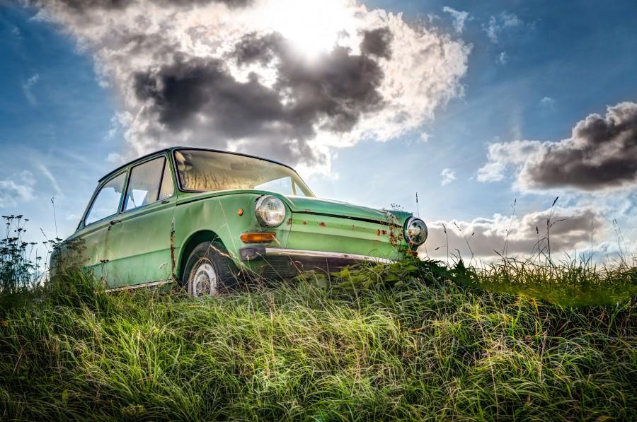 Old Dutch Daf car