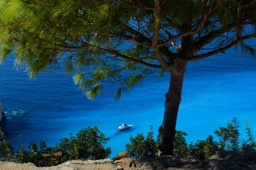Cliffs in Greece