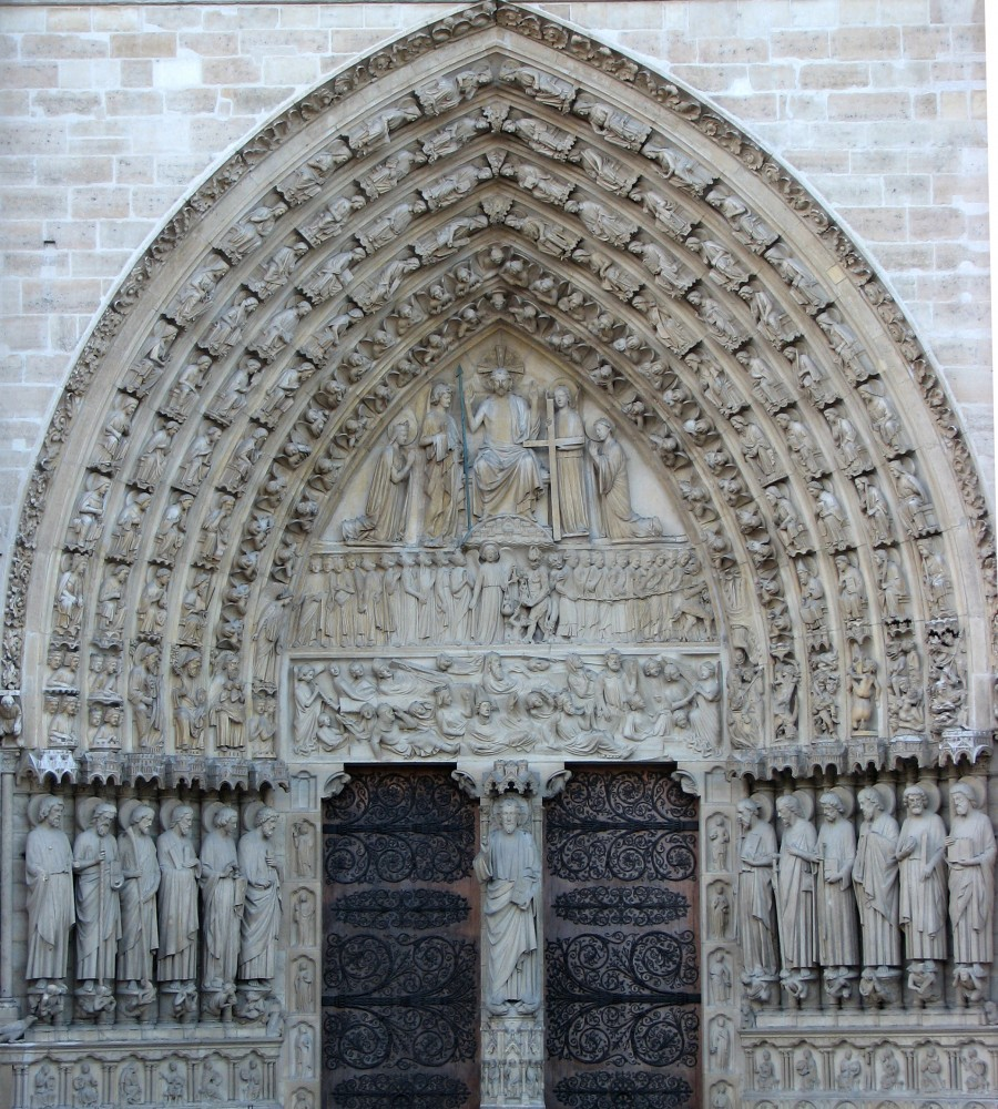 decoration on church door 2