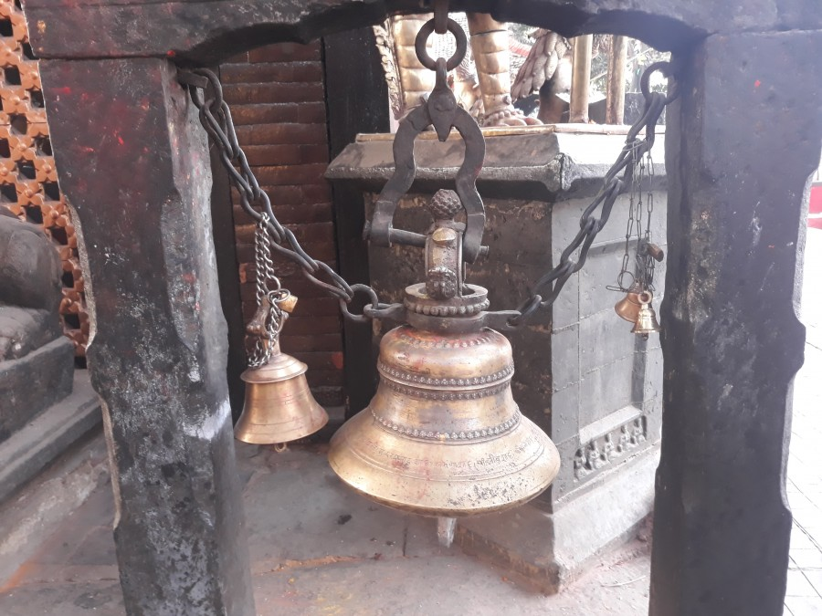 Bell at Temple