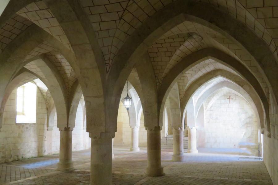 arches in Austrian monastery