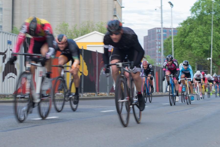 Race cyclists