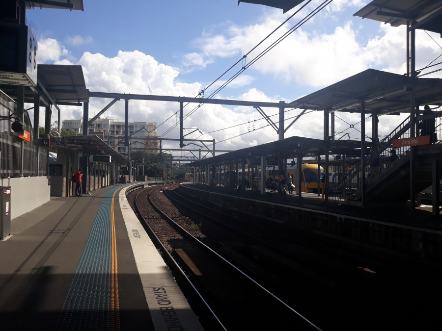 Ashfield Train station