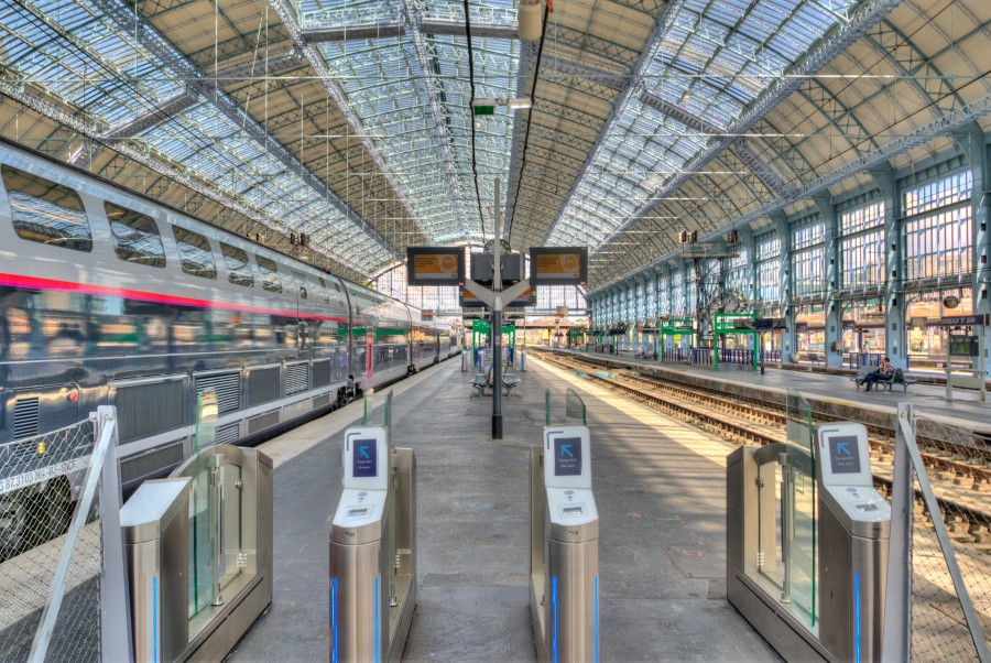 Bordeaux train station
