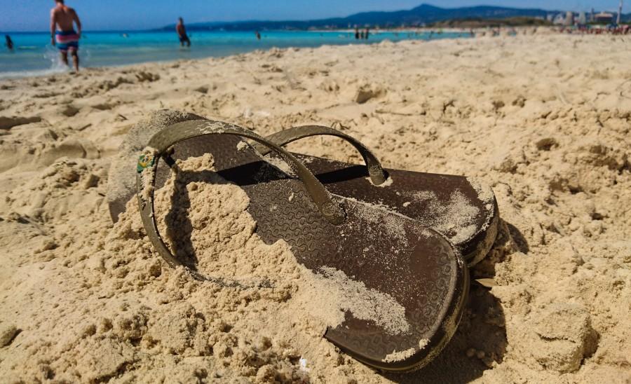 Flip-Flops ona beach