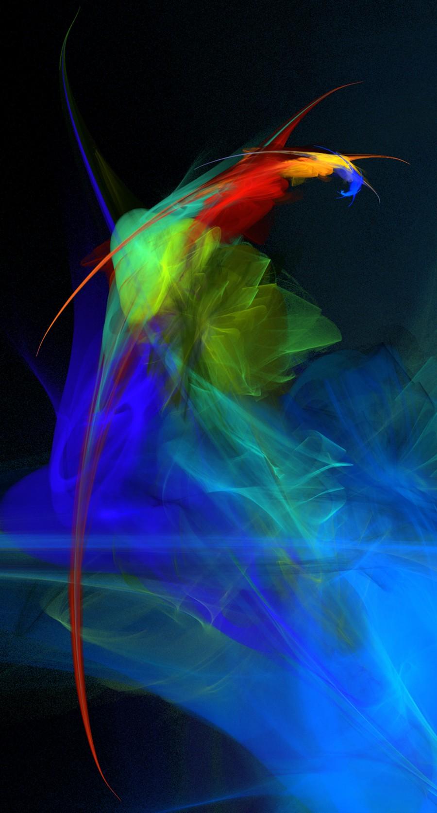 fractal parrot