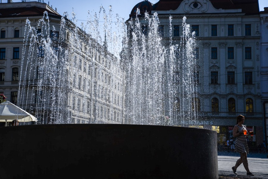 Fountain in Brno