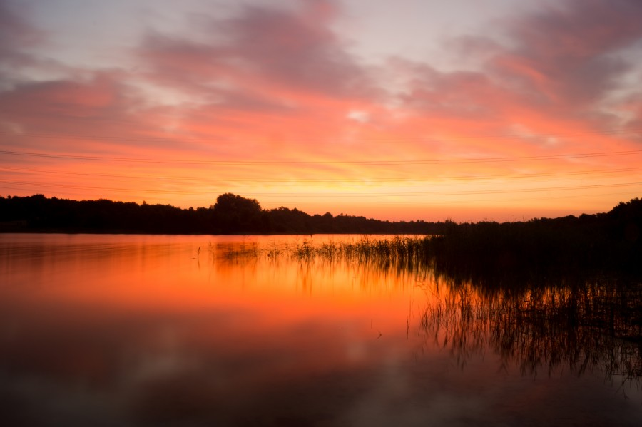 'Sunrise at the lake', via SkitterPhoto.com